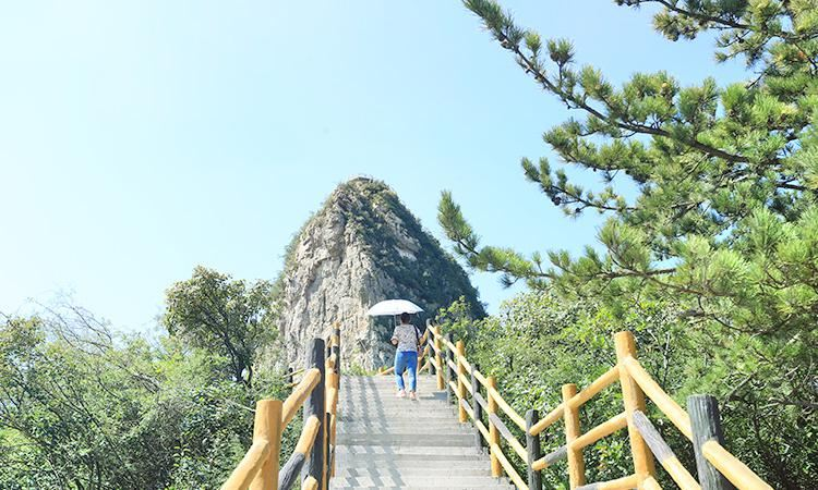 Wuzhishan Scenic Area in Tai-hang