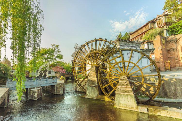 Ancient City Waterwheel