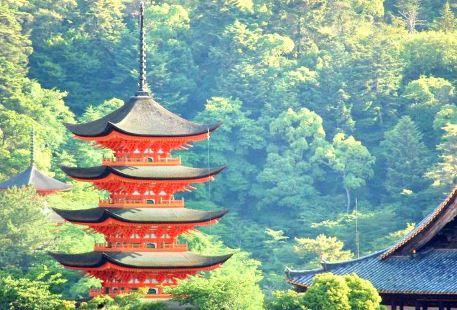 Toyokuni Shrine Five-Story Pagoda