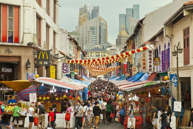 シンガポール中華街1