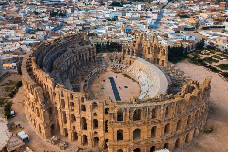 El DJem Amphitheatre2