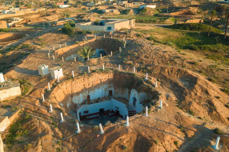 柏柏爾人洞穴民居3