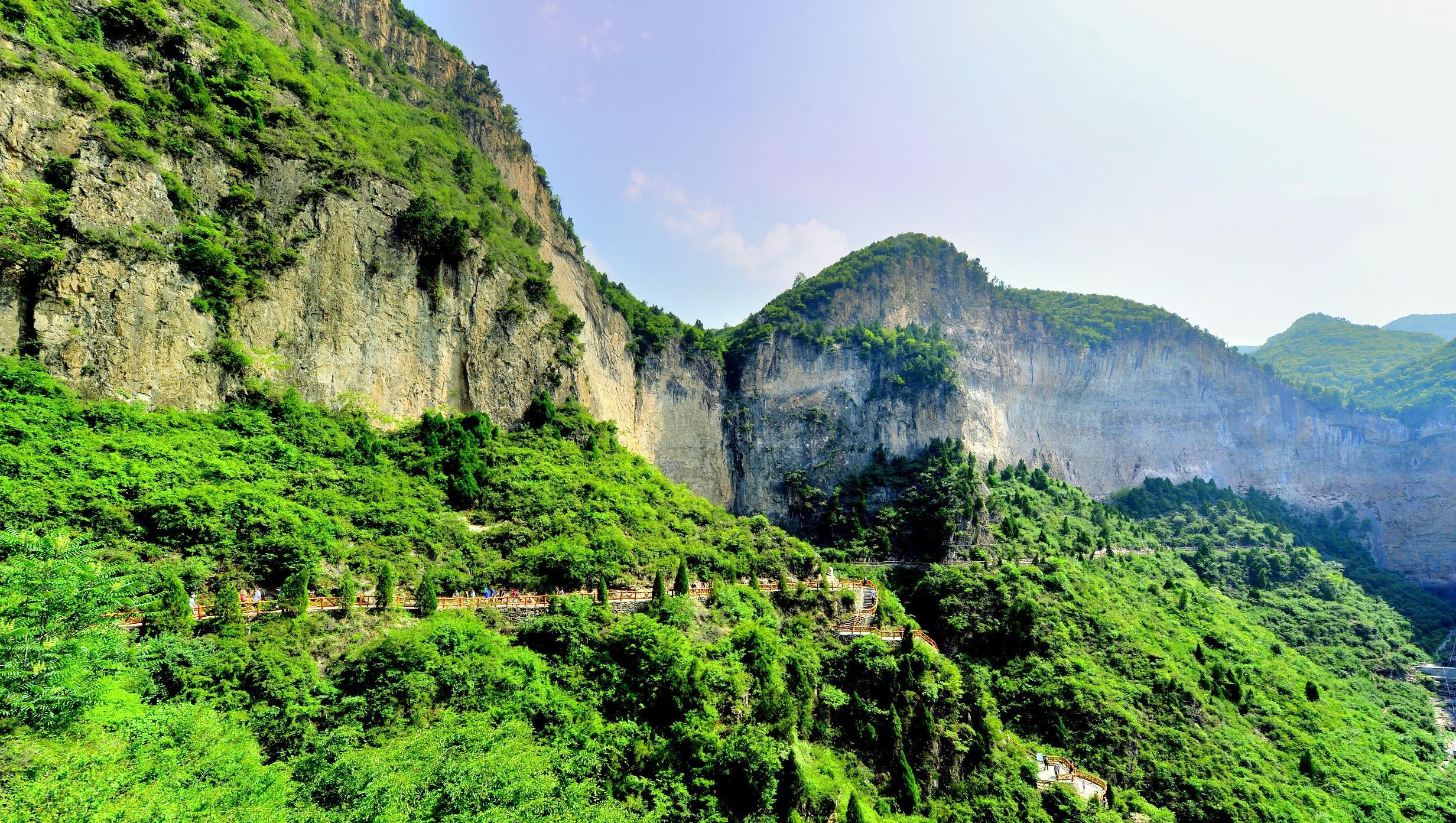 Qinglong Gorge ( Taihang Mountain Grand Canyon)