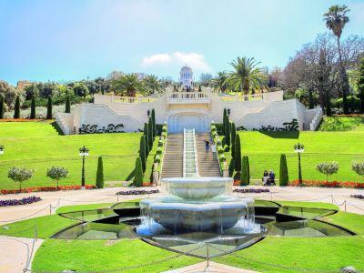 バハーイー庭園と黄金のドーム
