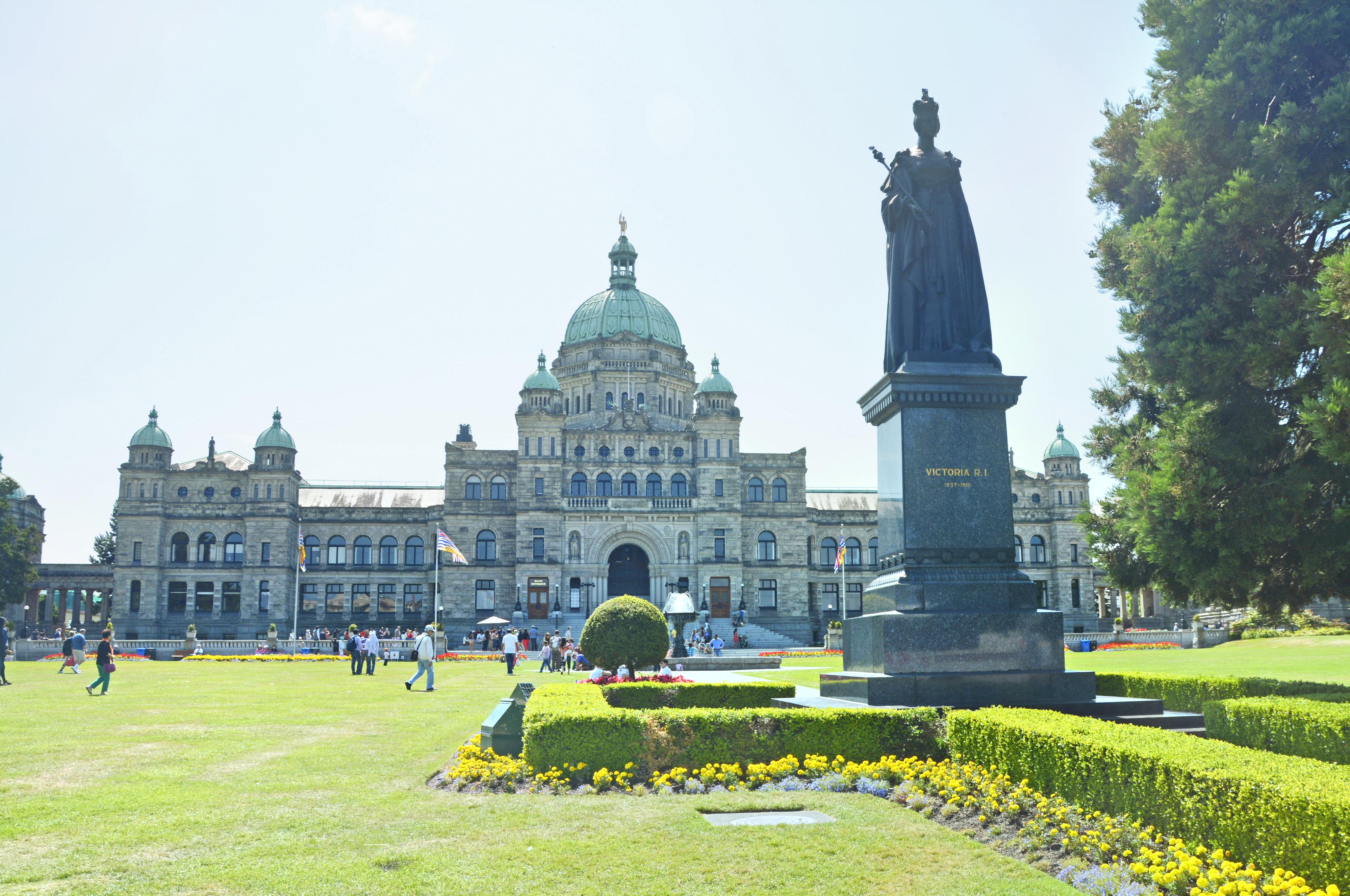 British Columbia Legislature Bldg