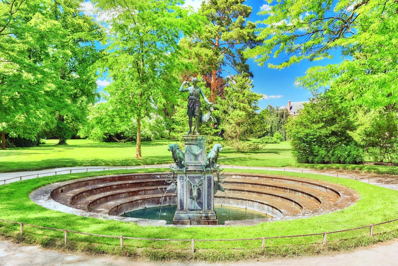 楓丹白露城堡花園