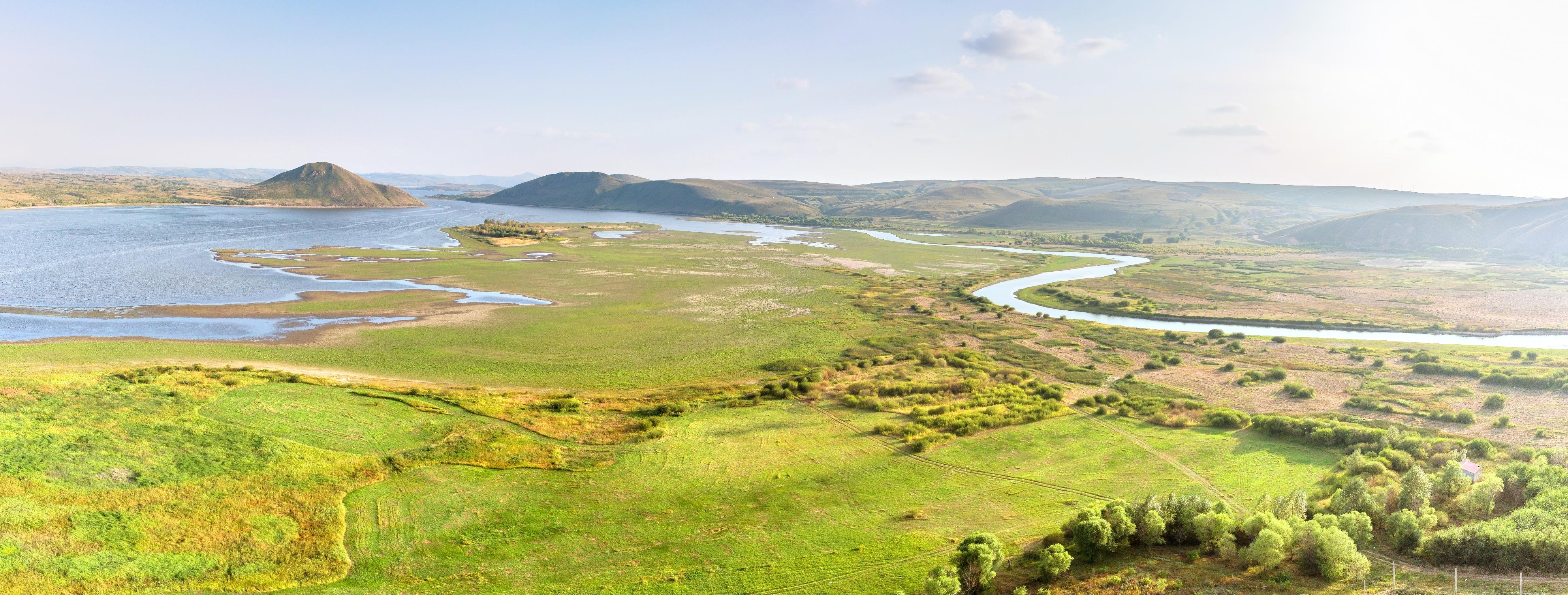 多倫湖景區