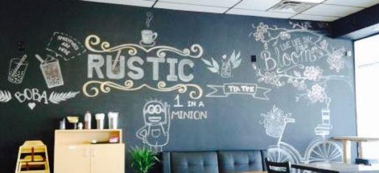 Rustic Bubble Tea Cafe