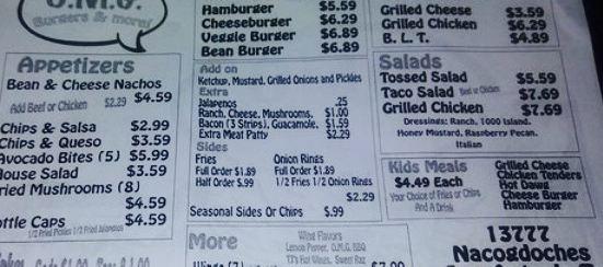 O.M.G. Burgers & More