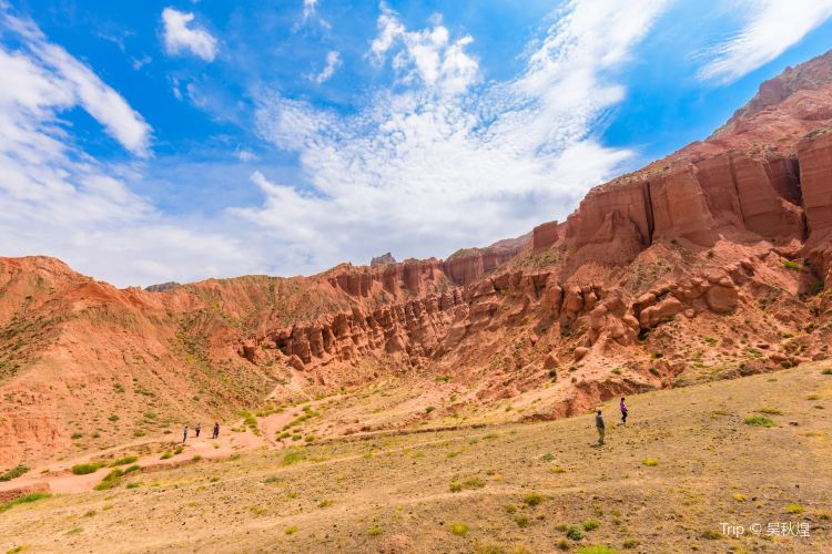 Ashgang Colorful Peaks Scenic Area in Guide National Geological Park3