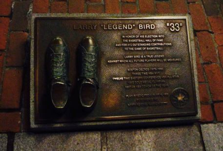 Larry Bird Plaque