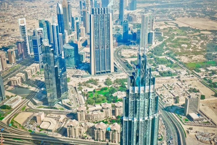 At the top Burj Khalifa1