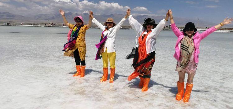 茶卡鹽湖1