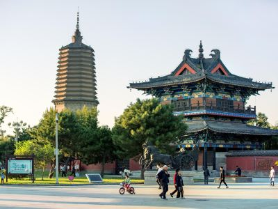 White Pagoda in Liaoyang