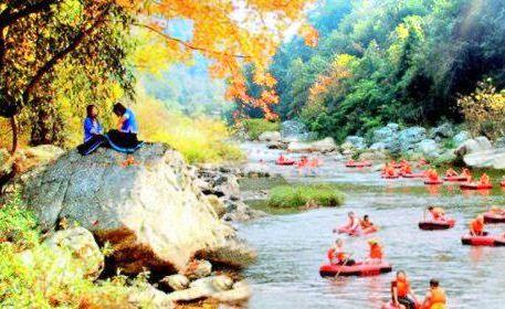 Channel Longdi River Drifting