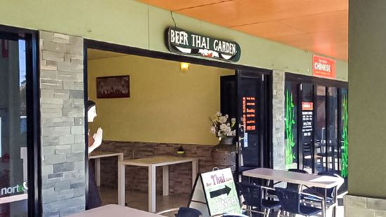 Beer Thai Garden Restaurant at Palm Beach