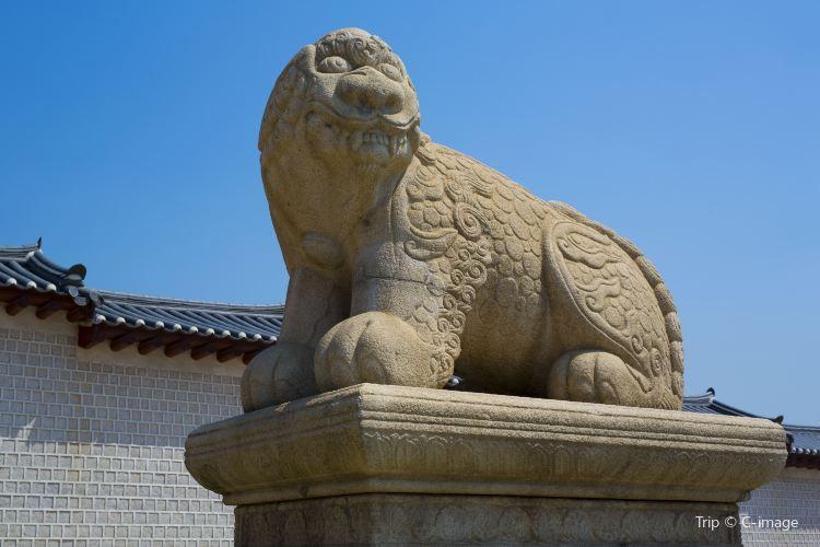 首爾景福宮獬豸像2