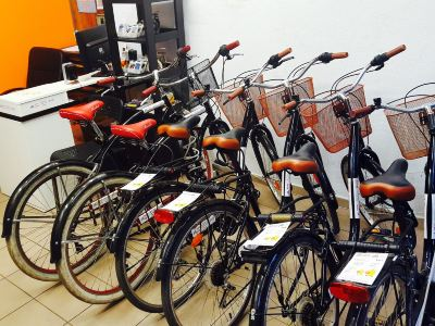 Luggage Point & Rent a Bike
