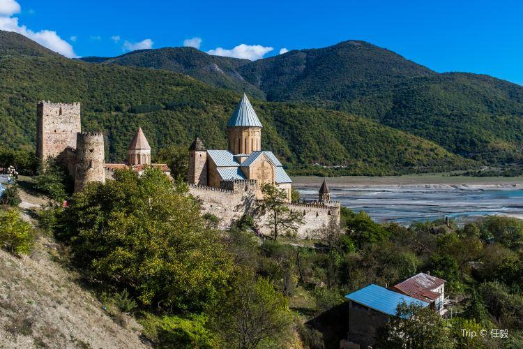Ananuri城堡2