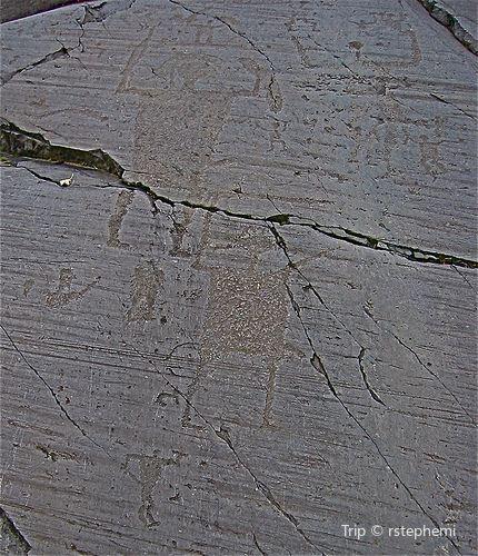 Rock Drawings in Valcamonica