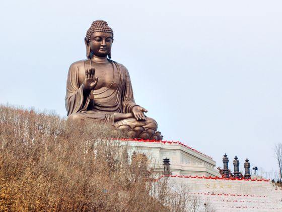 Dunhua Gold Peak Giant Buddha