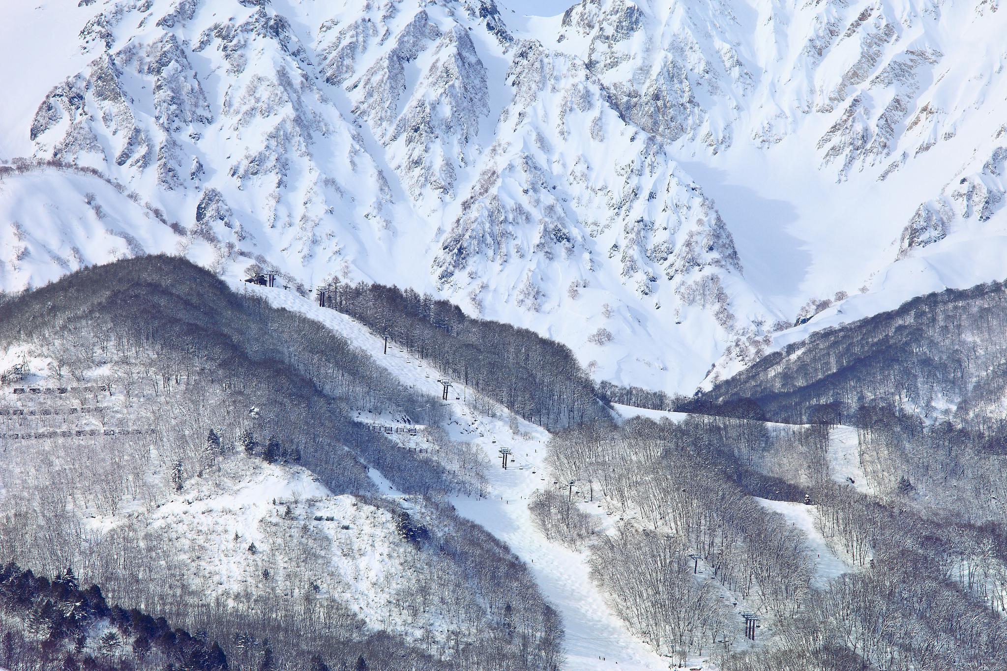 八方尾根スキー所