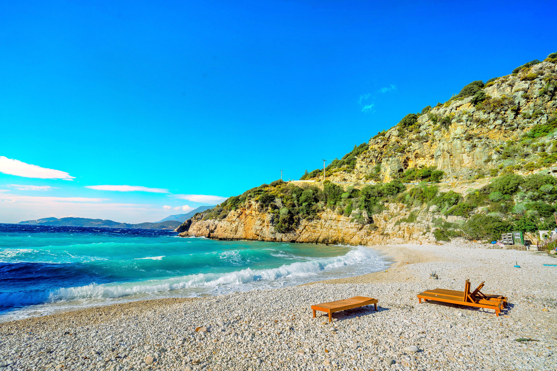 大卵石海灘