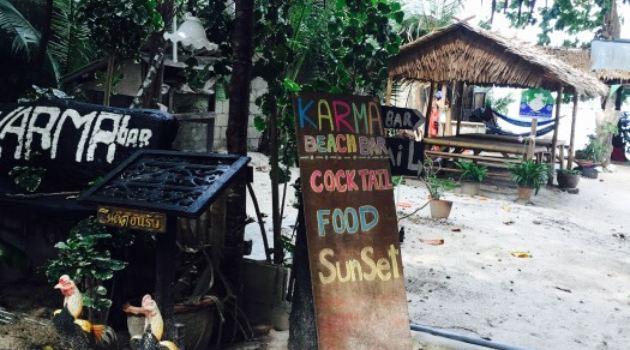Karma beach bar