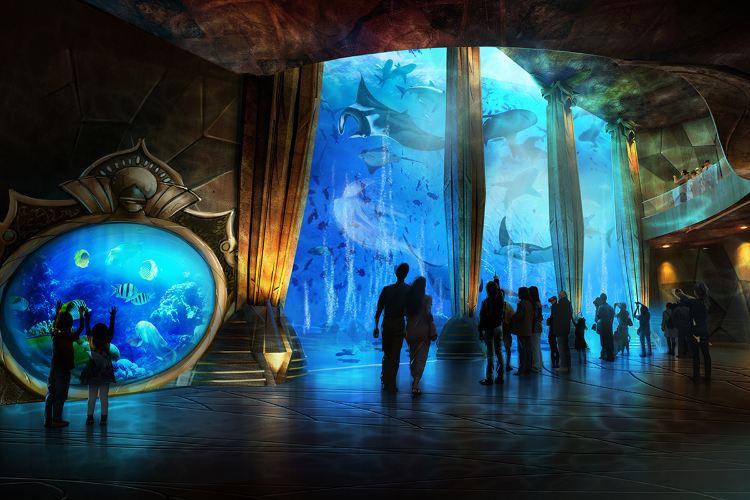 亞特蘭蒂斯失落的空間水族館1