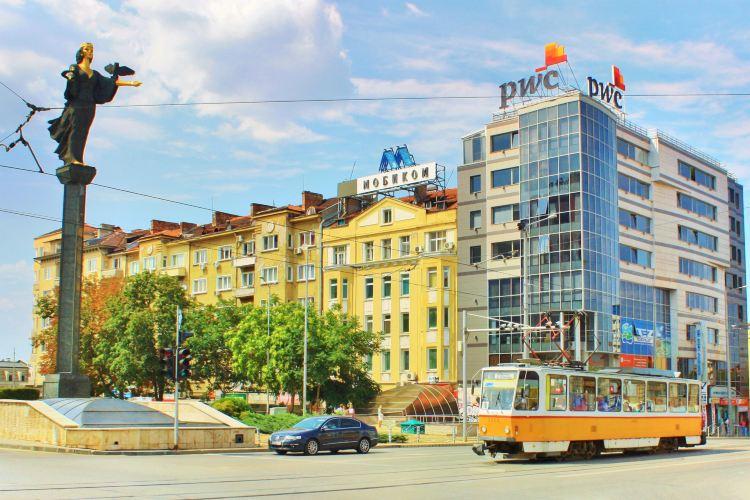 Monument Symbol of the City of Sofia