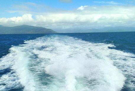 大堡礁綠島空中拖傘
