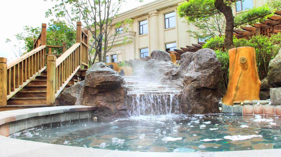 長白山樂高美度假酒店溫泉