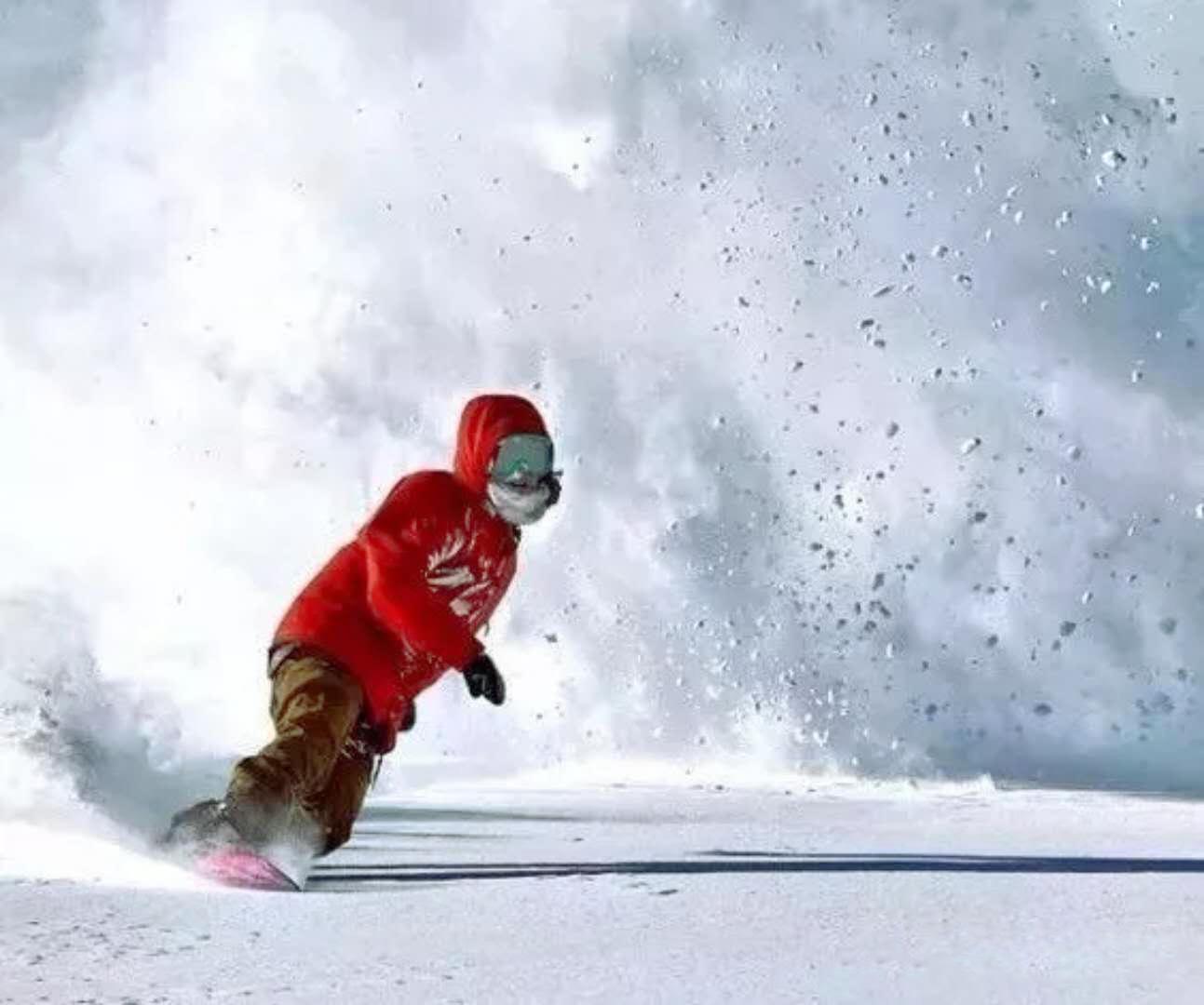 天柱山滑雪勝地