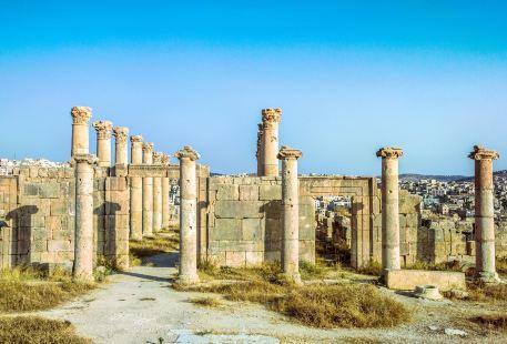 傑拉什羅馬古城遺址
