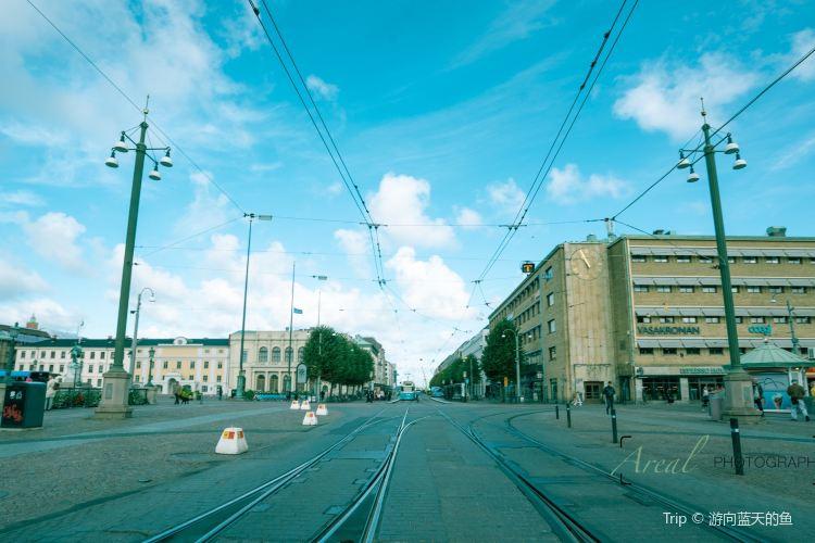 哥德堡市政廳廣場4