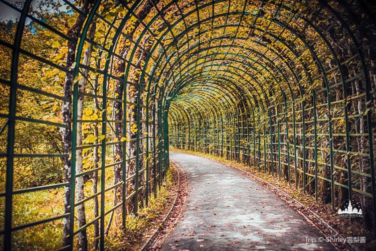 Schlosspark Linderhof2