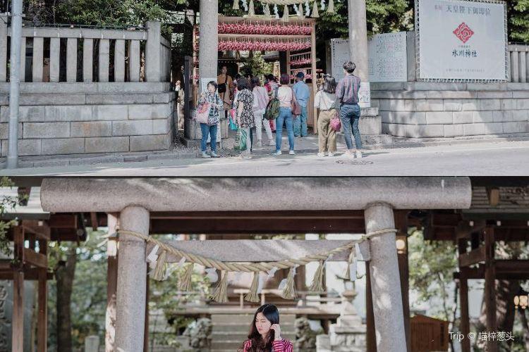 赤坂冰川神社1