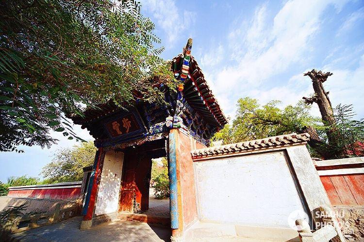Leitai Park of Wuwei3