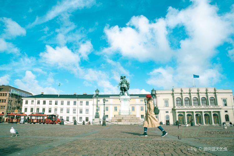 哥德堡市政廳廣場3