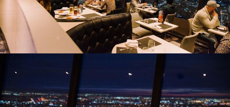 加拿大國家電視塔360度旋轉餐廳3