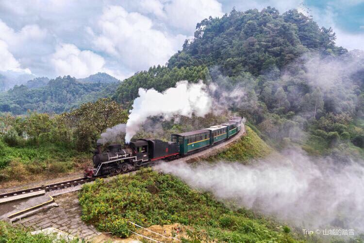 Jiayang Little Steam Train4