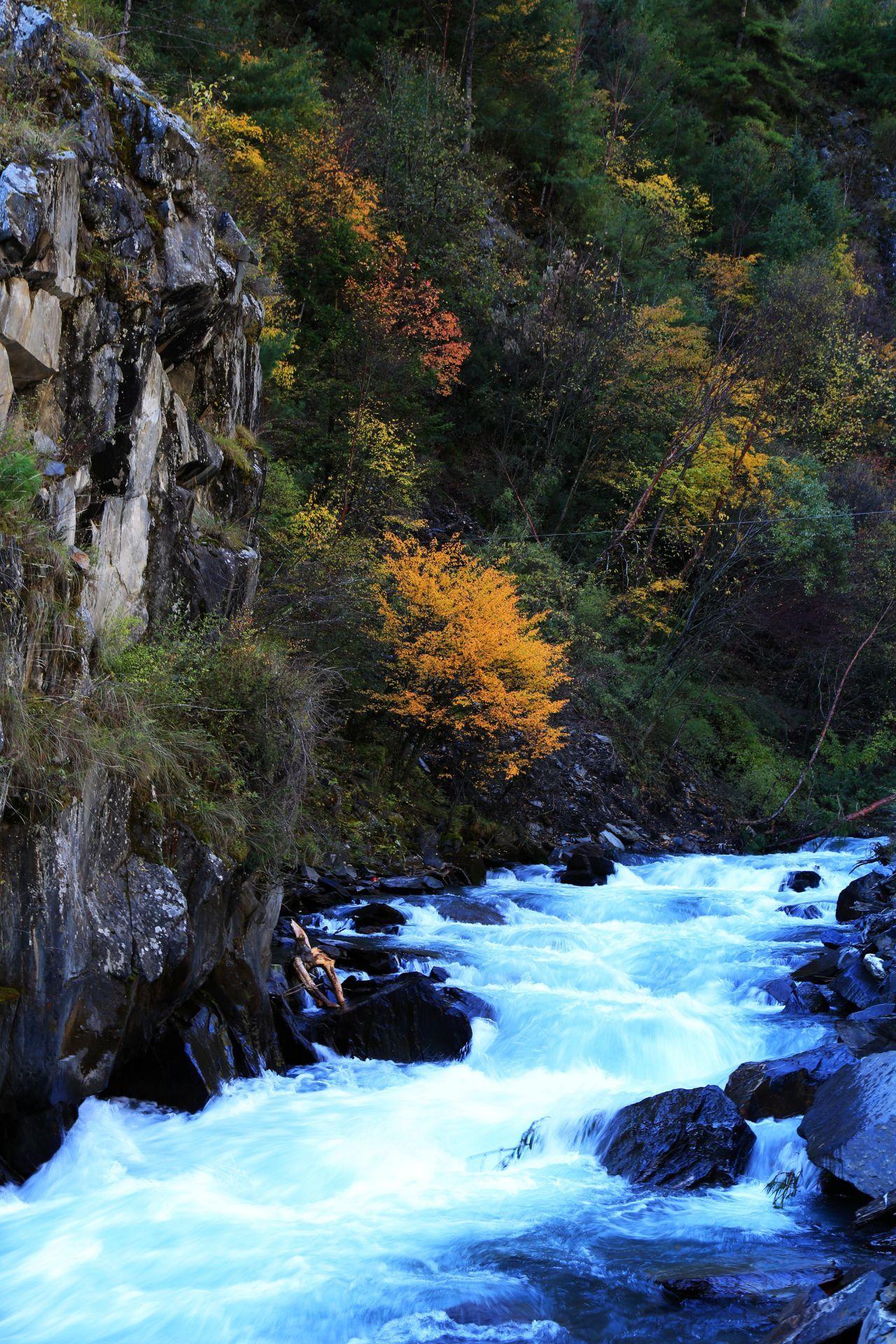 梭磨河峽谷