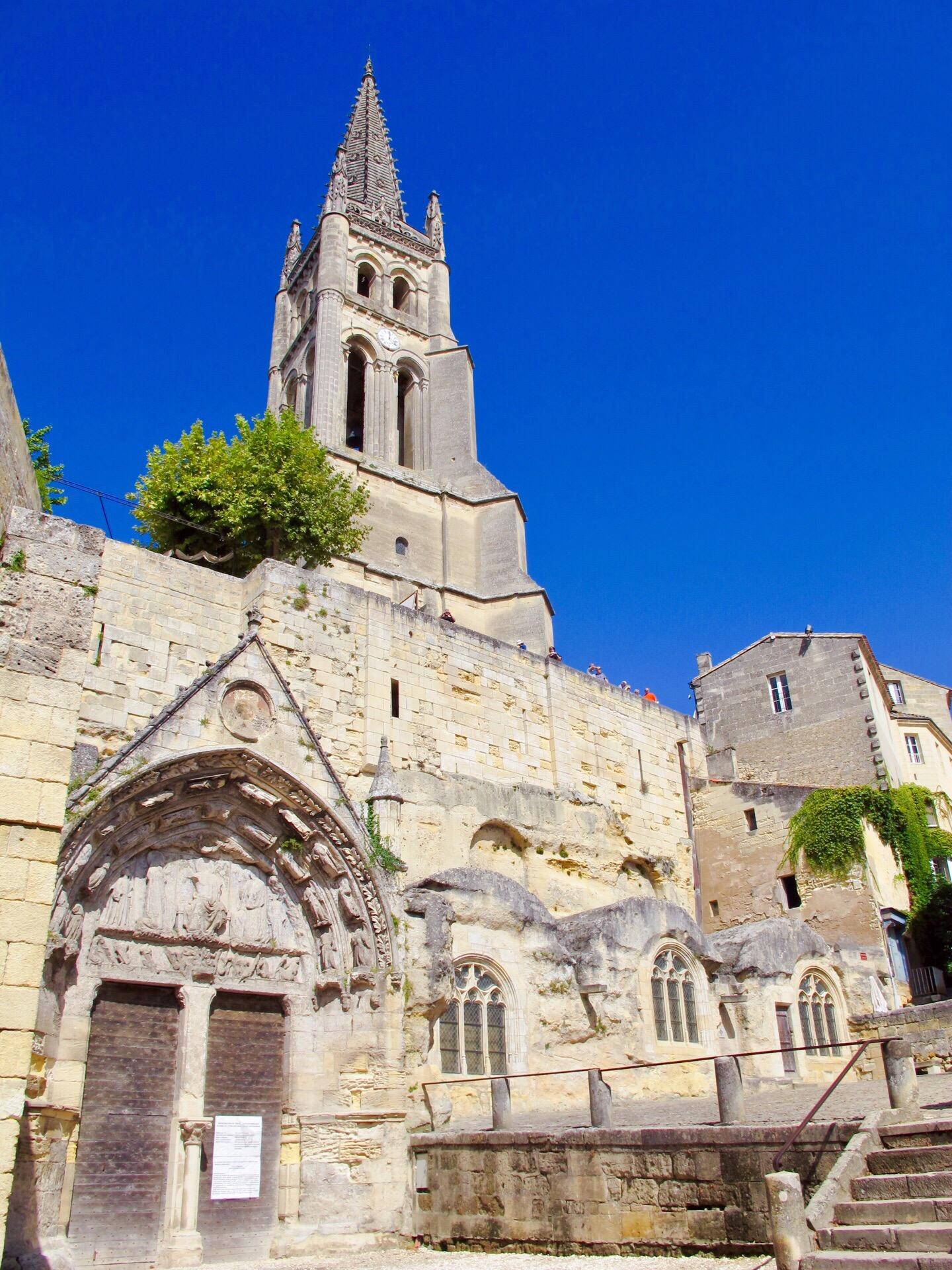 Saint-Emilion Monolithic Church