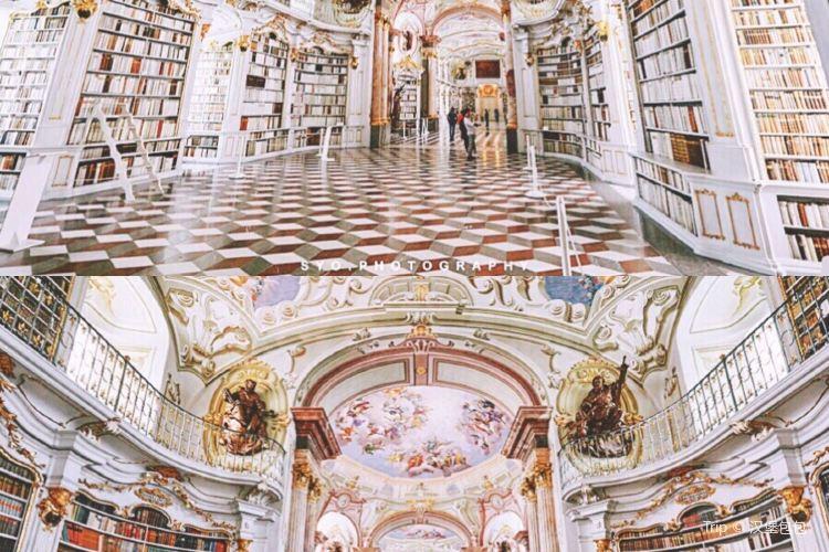阿德蒙特修道院圖書館1