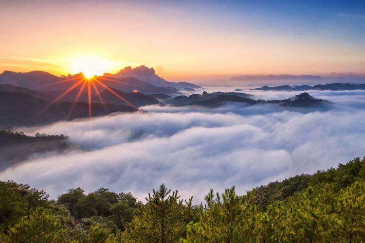 Doujiao Mountain Scenic Area (Qingshou Cliff)4