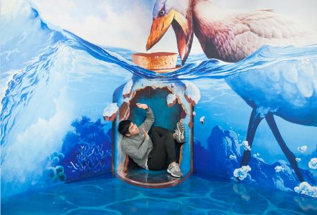 釜山Trickeye特麗愛3D美術館