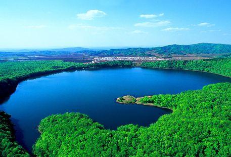 길림 통화시 휘남현 용만군 국가 삼림 공원