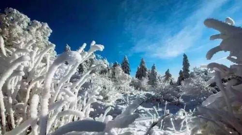 長白山雪嶺