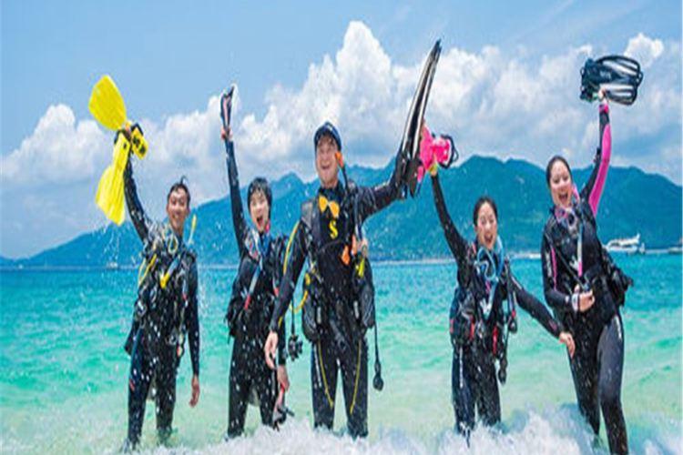東山島出海浮潛體驗1