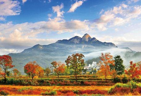 """Tiantangzhai (""""Heaven Village"""") Scenic Area"""